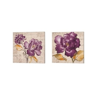 Lanie Loreth 'Lilac Beauty' Canvas Art (Set of 2)