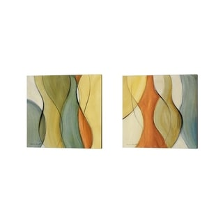 Lanie Loreth 'Coalescence' Canvas Art (Set of 2)