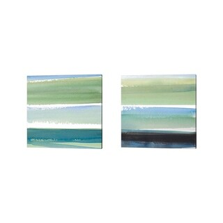 Lanie Loreth 'Morning Pasture Square' Canvas Art (Set of 2)