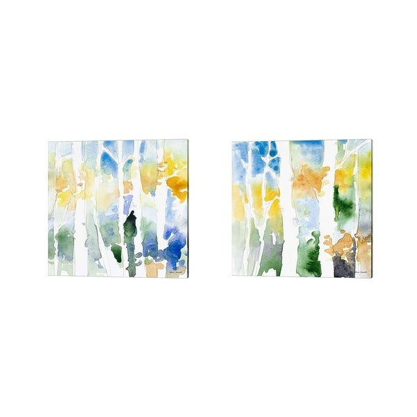 Lanie Loreth 'Spring Coming On' Canvas Art (Set of 2)