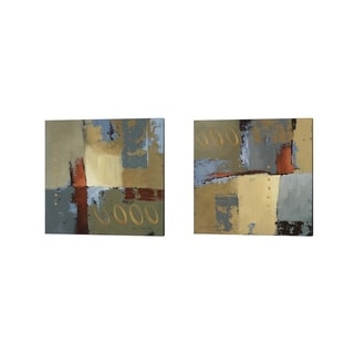 Lanie Loreth 'On the Boulevard' Canvas Art (Set of 2)