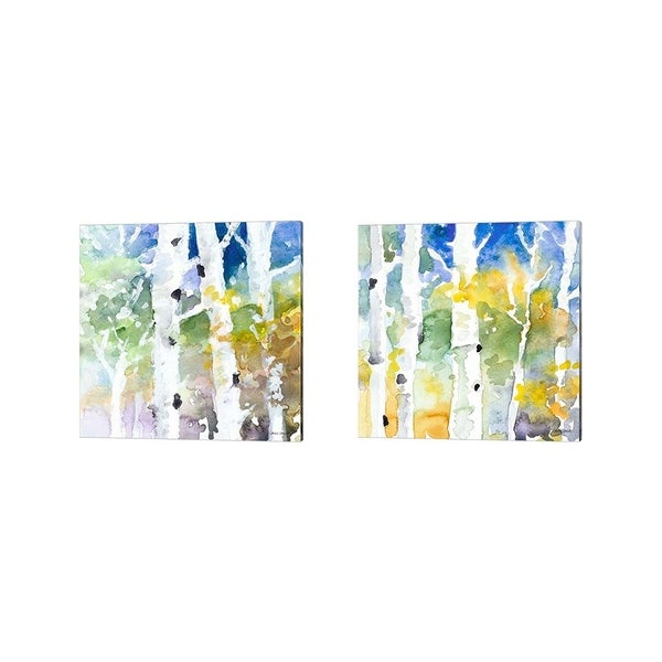 Lanie Loreth 'Tall Upon the Hill' Canvas Art (Set of 2)