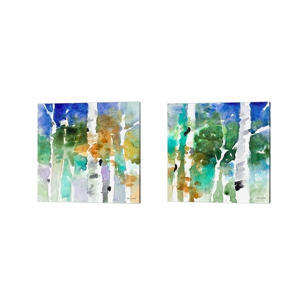 Lanie Loreth 'Up to the Northern Skies' Canvas Art (Set of 2)