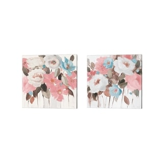 Lanie Loreth 'Spring Promise of Giverny' Canvas Art (Set of 2)