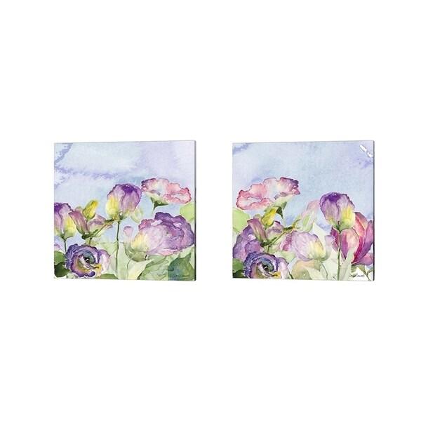 Lanie Loreth 'Purple Garden' Canvas Art (Set of 2)