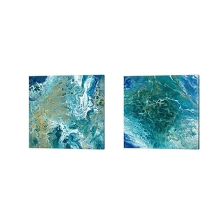 Tiffany Hakimipour 'Earth Essence' Canvas Art (Set of 2)
