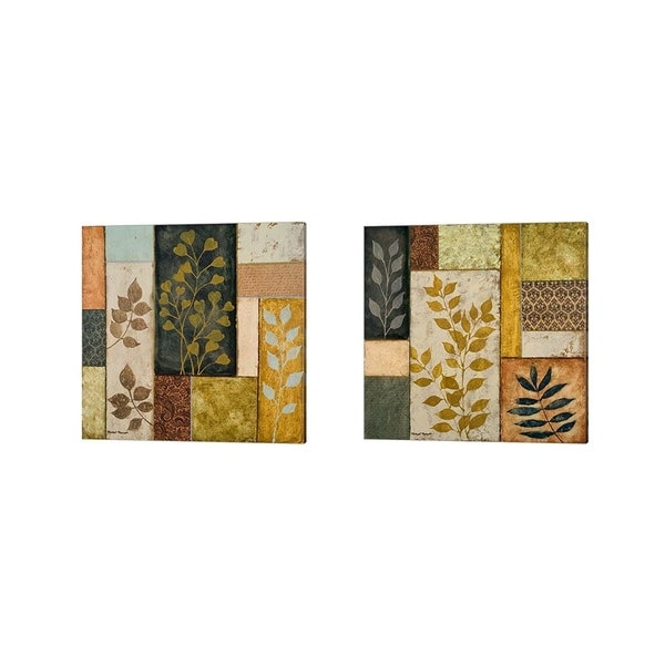 Michael Marcon 'Natural Elements' Canvas Art (Set of 2)