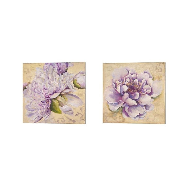 Patricia Pinto 'In Bloom' Canvas Art (Set of 2)
