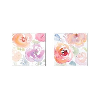Lanie Loreth 'Gentle Blossoms' Canvas Art (Set of 2)