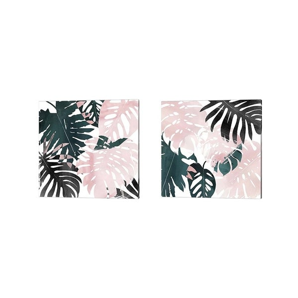Porch & Den Grace Popp 'Paradise Sweep' Canvas Art (Set of 2)