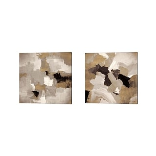 Lanie Loreth 'Muted Abstract' Canvas Art (Set of 2)