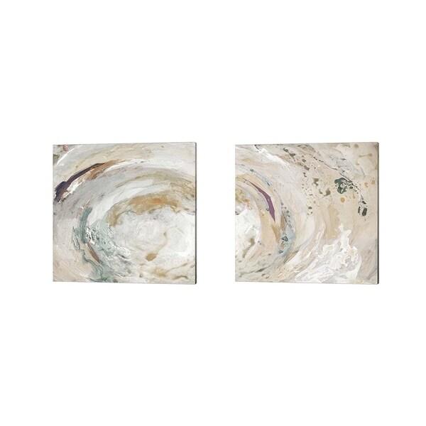 Lanie Loreth 'Nature Swirl Square' Canvas Art (Set of 2)