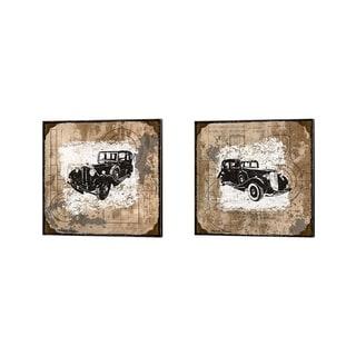 Michael Marcon 'Vintage Ride' Canvas Art (Set of 2)