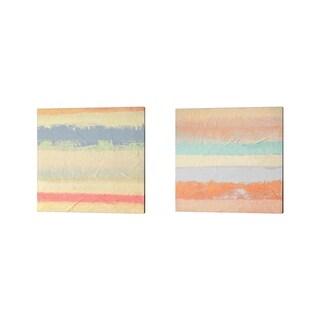 Italo Corrado 'Haiku' Canvas Art (Set of 2)