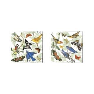 Wild Apple Portfolio 'Natures Flight' Canvas Art (Set of 2)