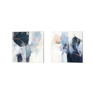 Victoria Borges 'Luz' Canvas Art (Set of 2)