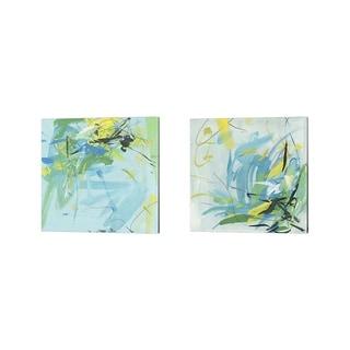 Melissa Wang 'Summer Symphony' Canvas Art (Set of 2)