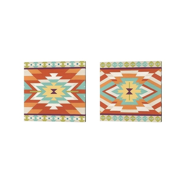 June Erica Vess 'Mesa Motif' Canvas Art (Set of 2)