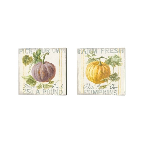 Danhui Nai 'Floursack Autumn' Canvas Art (Set of 2)