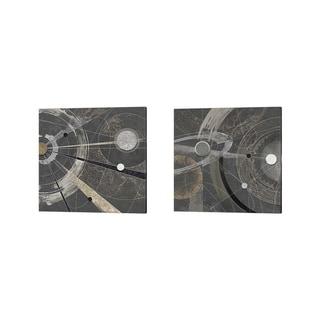 Arturo Armenti 'Orbitale' Canvas Art (Set of 2)