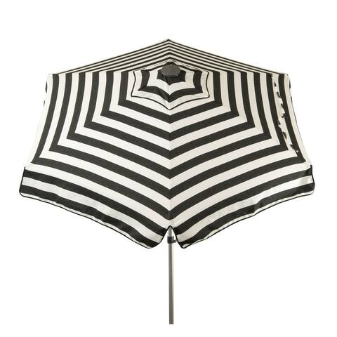 6.5 ft Cabana Stripe Deluxe Italian Patio Umbrella