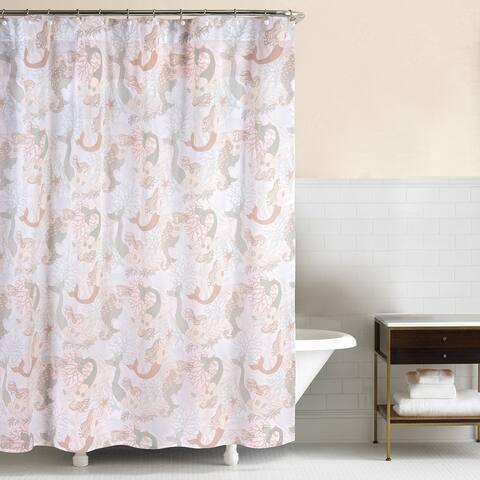 Mystic Echoes 72x72 Cotton Shower Curtain