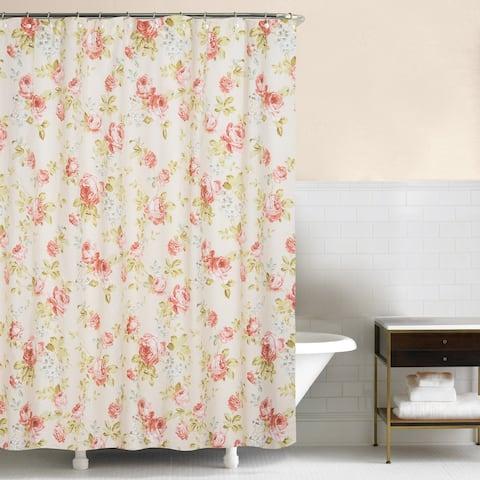 Whitney 72x72 Cotton Shower Curtain
