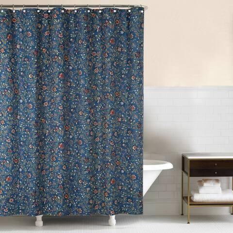 Wakefield 72x72 Cotton Shower Curtain