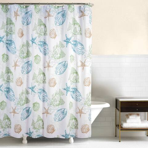 Reef Point 72x72 Cotton Shower Curtain