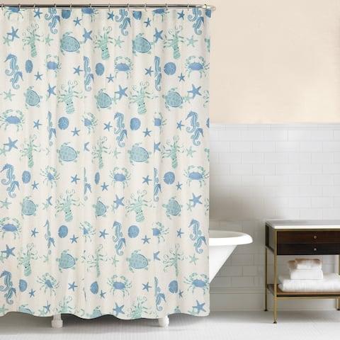 Brisbane 72x72 Cotton Shower Curtain