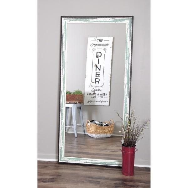 Industrial Floor Mirror: Shop Industrial Sage Floor Mirror