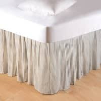 Nelly Onyx 18-inch Drop Bed Skirt