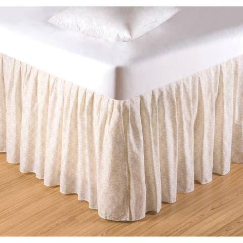 Lark 18-inch Drop Bed Skirt