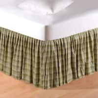 Holly Red 18-inch Drop Bed Skirt