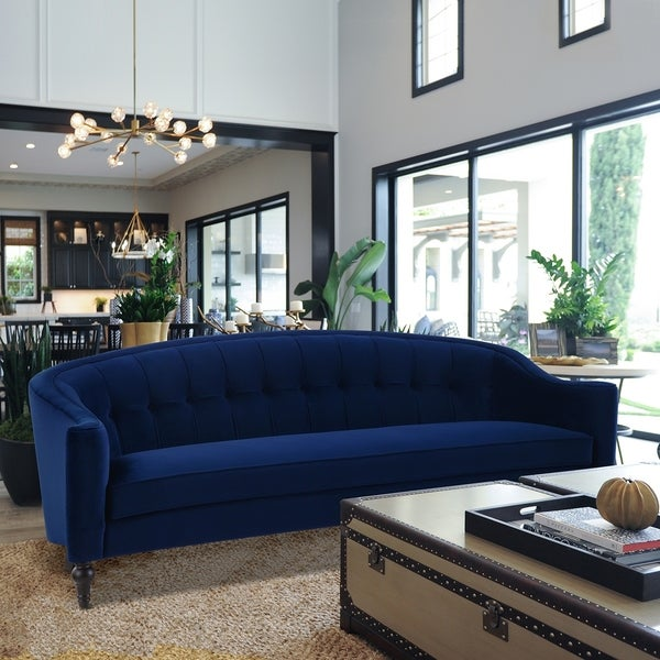 Gracewood Hollow Baralt Curved Back Sofa. Opens flyout.