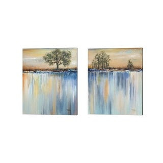 Patricia Pinto 'Paysage' Canvas Art (Set of 2)