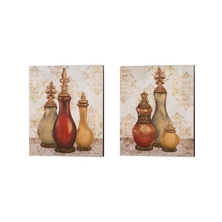 Tiffany Hakimipour 'Jeweled Accents' Canvas Art (Set of 2)