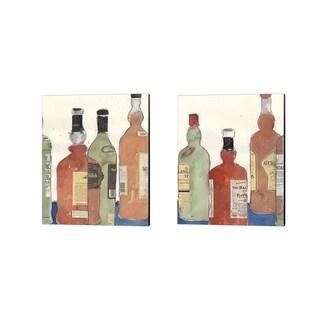 Sam Dixon 'Malt Scotch' Canvas Art (Set of 2)