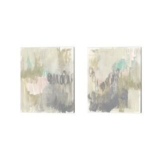 Jennifer Goldberger 'Whimsical Gestures' Canvas Art (Set of 2)