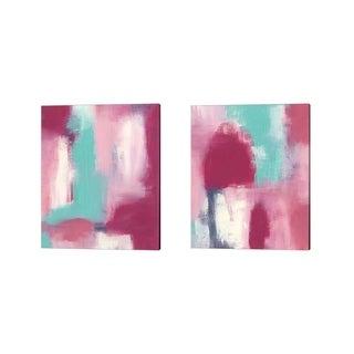 Regina Moore 'Mesosphere' Canvas Art (Set of 2)