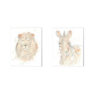 June Erica Vess 'Blush Savannah' Canvas Art (Set of 2)