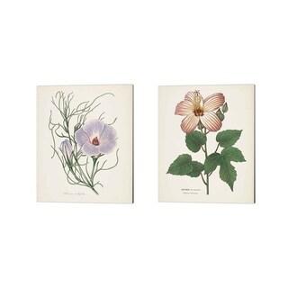 Wild Apple Portfolio 'Antique Botanical Cream' Canvas Art (Set of 2)