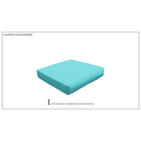 Cover for Ottoman Cushions 6 inches thick