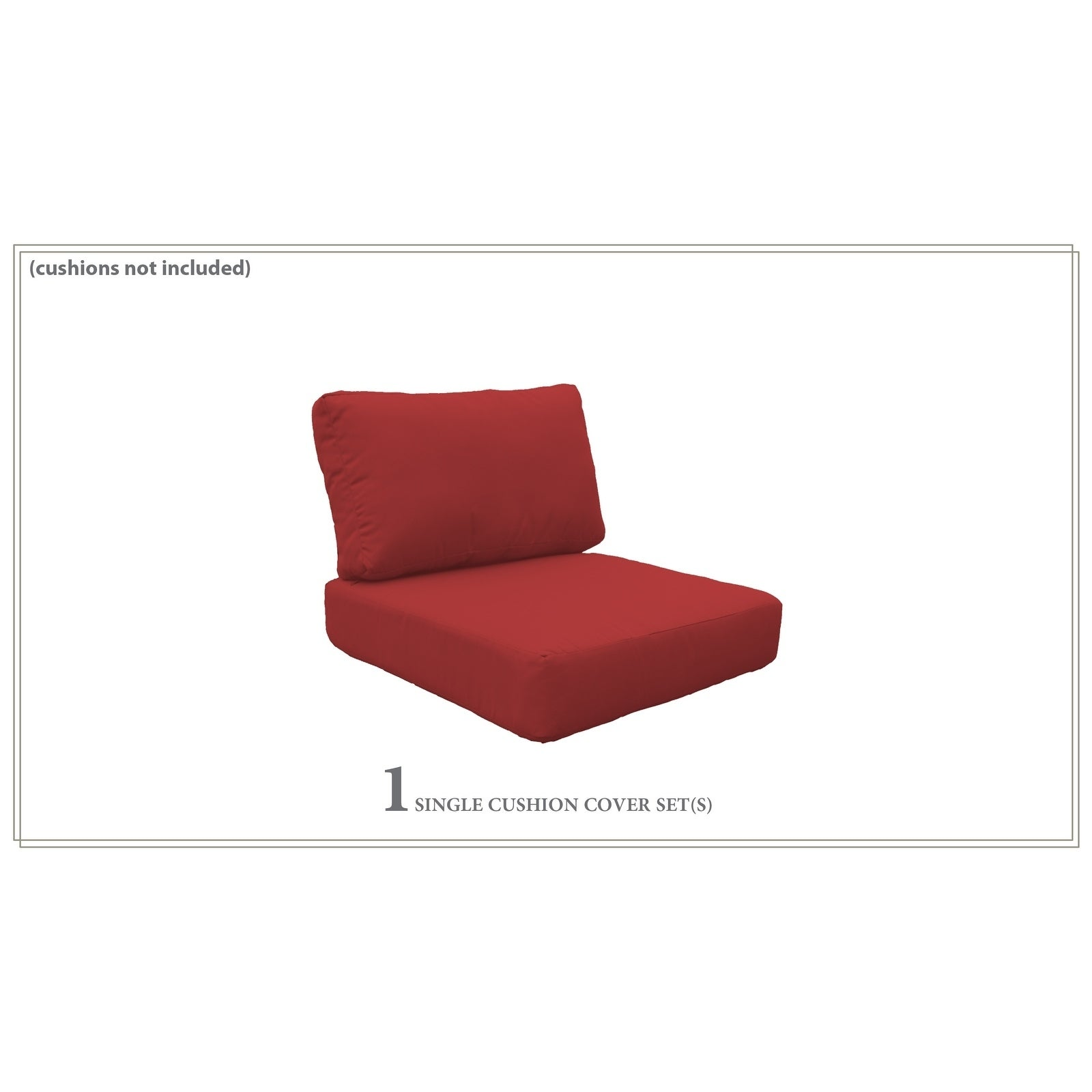 Low Back Chair Cushions 6 Inches Thick