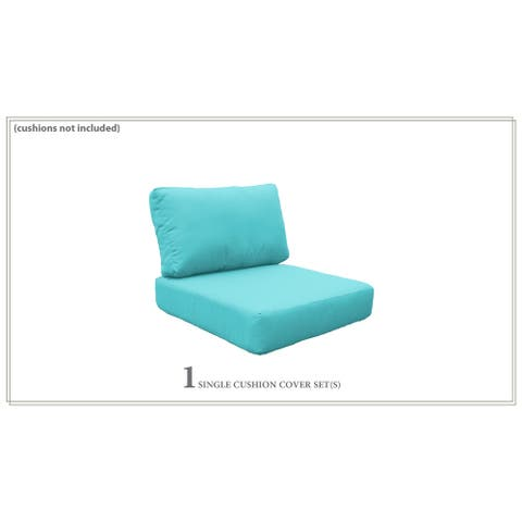 Covers for Low-Back Chair Cushions 6 inches thick