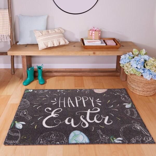 Mohawk Prismatic Happy Easter Area Rug