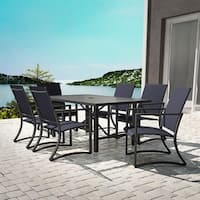 COSCO Outdoor Furniture Capitol Hill 7 Piece Patio Dining Set