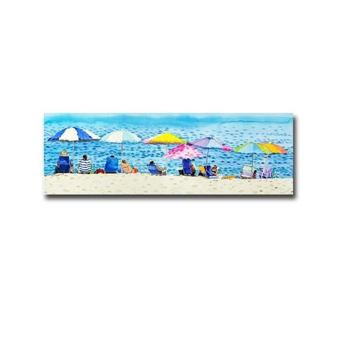 Serious Work by Glenn Tunstull Gallery Wrapped Canvas Giclee Art (12 in x 36 in, Ready to Hang)
