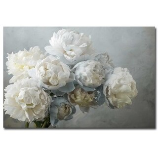 A Gift of Peonies by Frank Assaf Gallery Wrapped Canvas Giclee Art (24 in x 36 in, Ready to Hang)