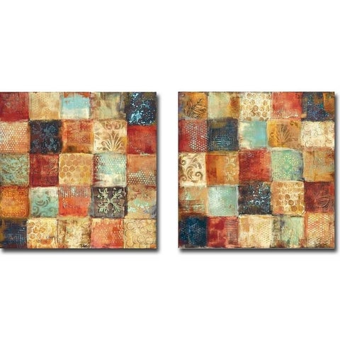 25 Moments I & II by Jodi Reeb 2-pc Gallery Wrapped Canvas Giclee Art Set (Ready to Hang)